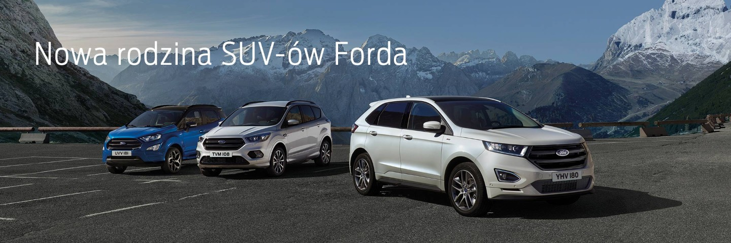 ford promotions pl Ford SUVy baner page