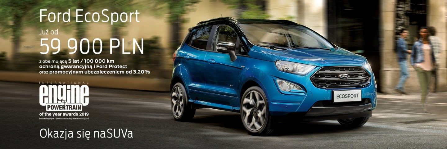 ford promotions pl Ford EcoSport baner HPR 2160 720 B 3x1 2160x720 bb blue ecosport st line.jpg.renditions.extra large