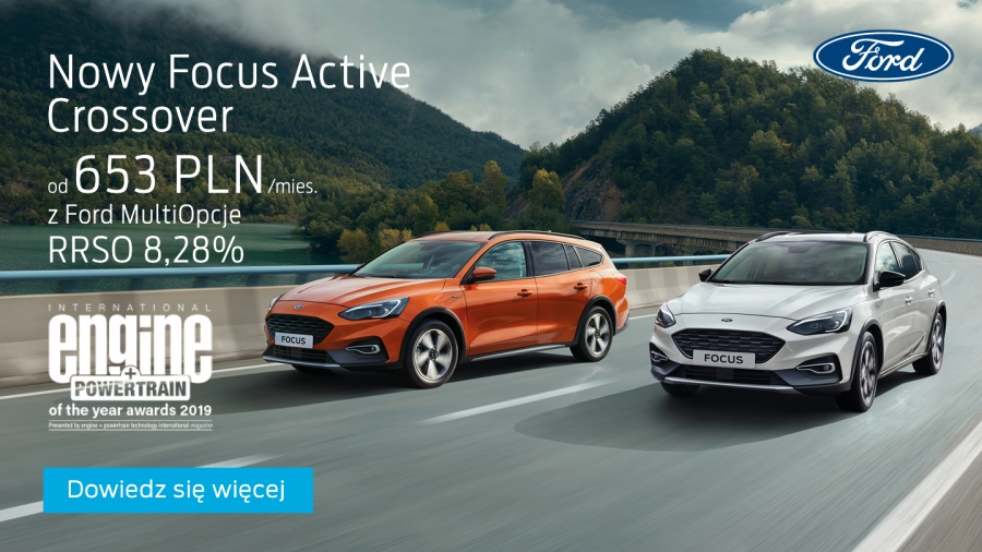 Nowy Focus Active Crossover