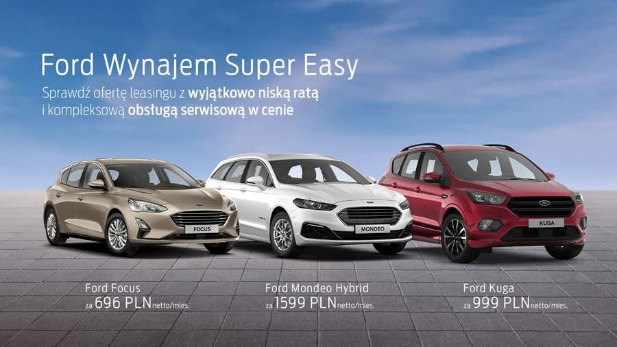 Ford Wynajem Super Easy